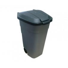 Бак для мусора 105 л на колесах Эльфпласт