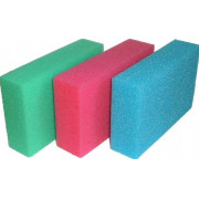Губка для автомобиля цветная 10х8х18 см