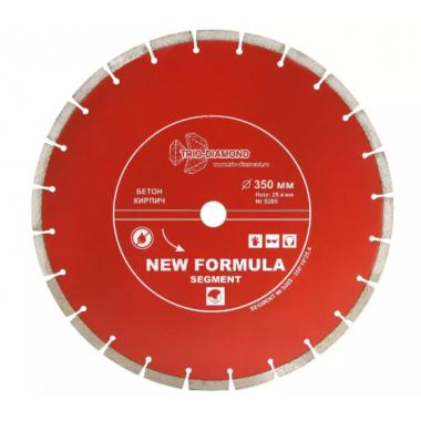 Алмазный диск SEGMENT 350x25,4мм Trio Diamond