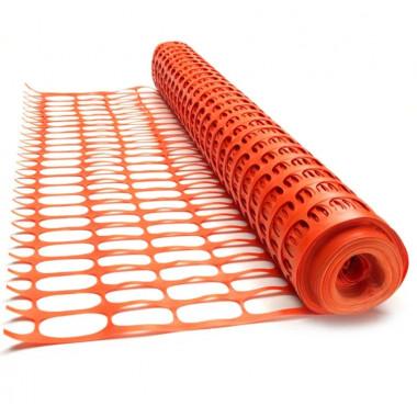 Аварийное ограждение оранжевая сетка 1х50м SR 100