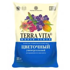 "Грунт ""Живая земля"" 5 л цветочная (Фарт) Terra Vita"