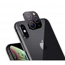 Накладка на камеру черная для Apple iPhone X, XS, Max под 11 Pro Max