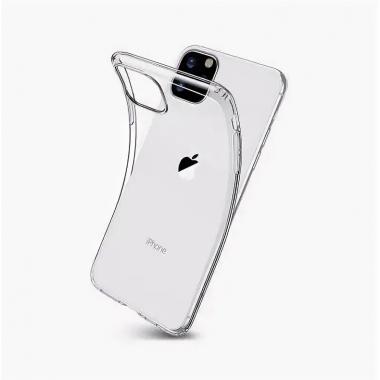 iPhone 11 Pro прозрачный силиконовый чехол