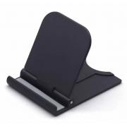 Держатель на стол для телефона алюминий черный