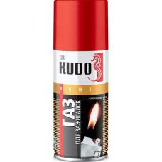 Газ универсальный для заправки зажигалок 140 мл KUDO KU-H404