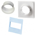 Фланцы и накладки (площадки) для вентиляции