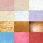 Декоративные краски и штукатурки