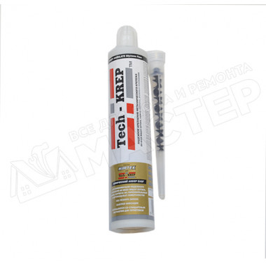 Анкер химический 300 мл для любого бетона/кирпича + 1 насадка EASF