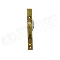 Задвижка для двупольной двери с латунным покрытием zad-latun