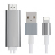Кабель Lightning 8 pin — HDMI HDTV для iPhone 5/6/7 PREMIER 8 pin-HDMI Adapter