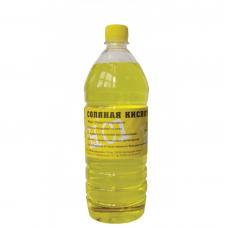 Кислота соляная 0,5 л пластиковая бутылка