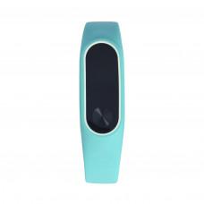 Чехол бирюзовый для фитнес-браслета Xiaomi Mi Band 2
