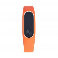 Чехол оранжевый для фитнес-браслета Xiaomi Mi Band 2