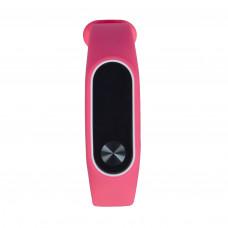 Чехол розовый для фитнес-браслета Xiaomi Mi Band 2