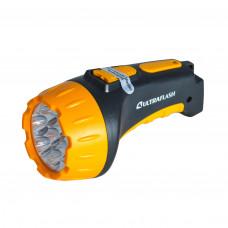 Фонарь LED (аккумуляторный, желтый/черный) Ultraflash 3807 9216