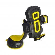 Автодержатель для смартфона черно-желтый iMOUNT JHD-42HD33