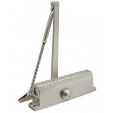 Доводчик серебристый морозостойкий до 160 кг НОРА-М №5S ЦБ000010569