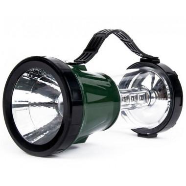 Аккумуляторный кемпинговый фонарь 2 в 1 зеленый Smartbuy SBF-45-G