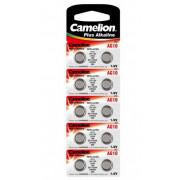 Элемент питания литий Camelion G10 389 BL10 12818