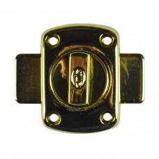 Задвижка дверная латунь AMIG 388-40