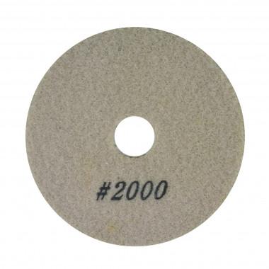 Алмазный полировальный круг гранит 100х40х2,5 мм Сплитстоун 6А2S №10