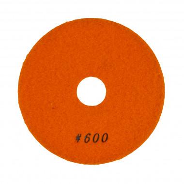 Алмазный полировальный круг 100х40х2,4 мм Сплитстоун 6А2S №6