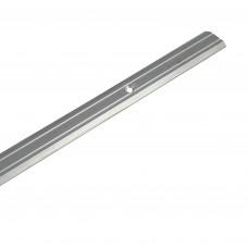 Держатель ковровый алюминиевый 1300 мм узкий Нора-М 019