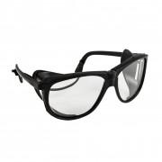 Очки защитные с дужками черные