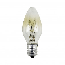 Лампа декоративная для люстры-вентилятор 12 W Е-12 7 V OSRAM