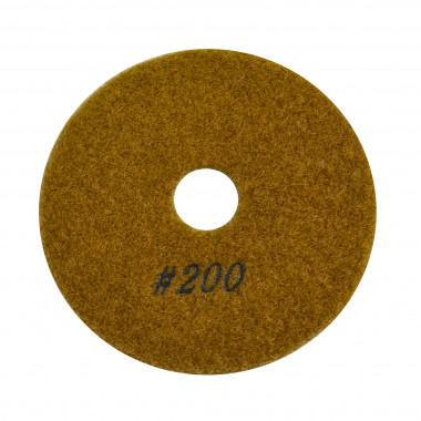 Алмазный полировальный круг гранит Сплитстоун 6А2S100х40х2,5 №3