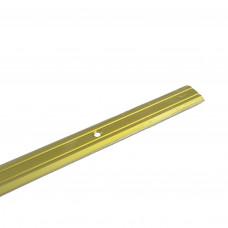 Держатель ковровый матовое золото 820 мм узкий Нора-М 019