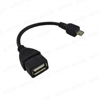 Адаптер кабель microUSB - USB OTG V8