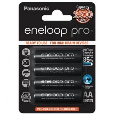 Аккумулятор 2500 мАч AA BL4 Panasonic Eneloop Pro BK-3HCDE/4BE 13345