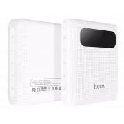 Внешний аккумулятор Power Bank белый 10000 mAh Hoco B20