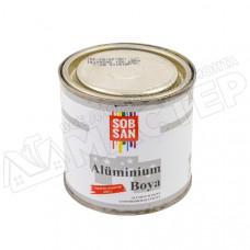Краска для металла алюминиевая золото 0.28 кг Sobsan
