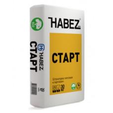Штукатурка ручного нанесения 30 кг Habez Старт
