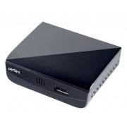 Приставка для цифрового TV DVB-T2 внешний блок питания HDMI пульт ДУ Perfeo PF-T2-2