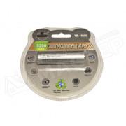Аккумулятор 5200 мАч Поиск YB-18650