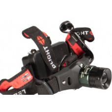 Налобный фонарь аккумуляторный HeadLight ПОИСК P-6671