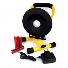 Прожектор аккумуляторный 30W LED TG-804-T6