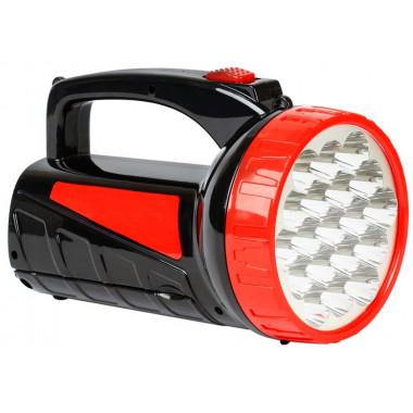 Аккумуляторный фонарь-прожектор 12+9 SMD черный Smartbuy SBF-401-1-K
