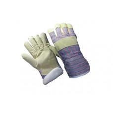 Замшевые утепленные перчатки Хватка П067
