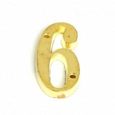 Накладка-цифра Fiore-6-G