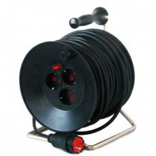 Удлинитель силовой на катушке 40 м  1,5 кв.мм