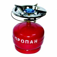 Плита газовая с газовым балоном КЕМПИНГ