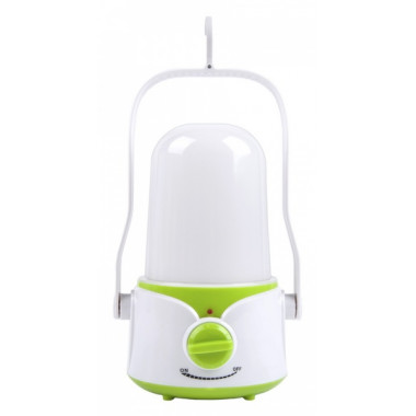 Аккумуляторный кемпинговый фонарь 45 SMD белый/зеленый Smartbuy SBF-42-WG