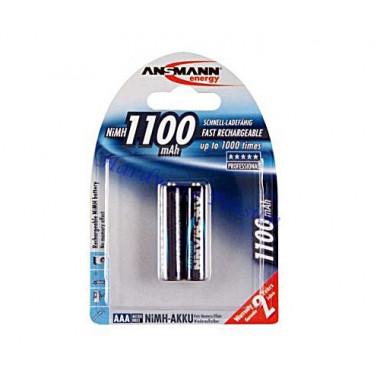 Аккумулятор ANSMANN MN1100AAA 5035222-RU PROF BL2 11400