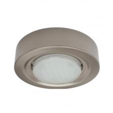 Светильник накладной сатин-хром 32х130 мм GX53 Ecola FT3073 FS5330ECB