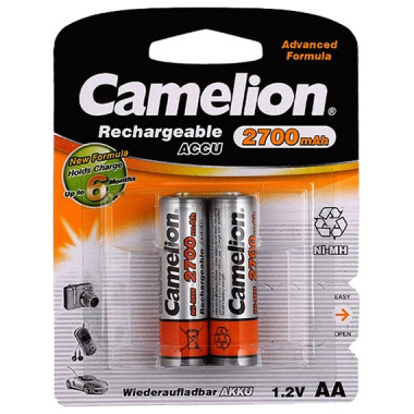 Аккумулятор Camelion АА-2700 7371
