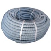 Труба гофрированная пластиковая для электропроводки D-25 мм 50 м T-plast 55.01.002.0003